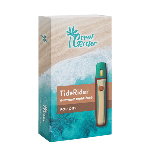 TideRider Rechargeable Vaporizer Device - Dark Wood